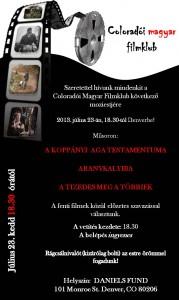 Magyar Filmklub 2013.07.23
