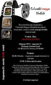 Magyar Filmklub 2013.08.21