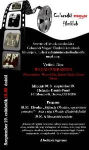 Magyar Filmklub 2013.09.19
